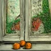 Sound Of Rain  Oil Painting Art Print