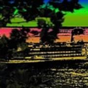 Soundside Treehouse View Art Print