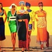 South African Beauties Art Print