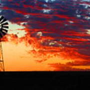 South African Sunrise Art Print