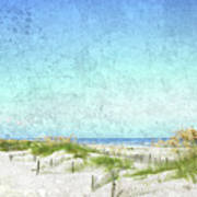 South Carolina Beach Art Print