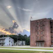 South Carolina Fire Academy Tower Art Print