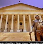 South Carolina State House Columbia Sc Art Print