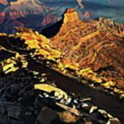 South Kaibab Trail - Grand Canyon Art Print