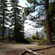 South Lake Tahoe Mountain Trail Art Print