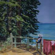 South Lake Tahoe Summer Art Print