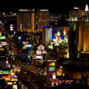 South Las Vegas Strip Art Print