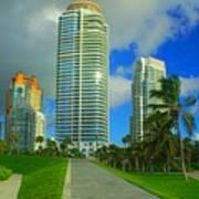 South Miami Beach Art Print
