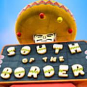 South Of The Border Art Print