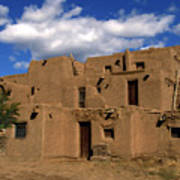 South Pueblo Taos Art Print