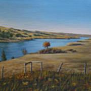 South Saskatchewan River Art Print