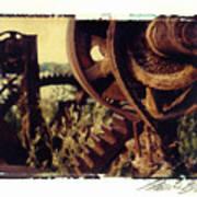 South Side Machine Detail 2 Art Print