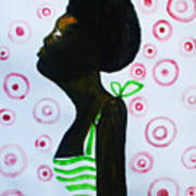 South Sudanese Lady Art Print