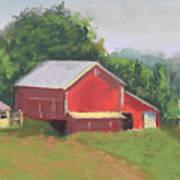South View Of Meyer Farm Art Print