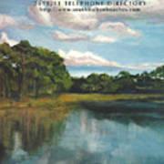 South Walton Telephone Directory Cover Art Art Print
