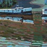 Southampton And Scubbys Bluff Fishing Fleet Art Print