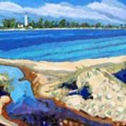 Southampton Dunes Art Print