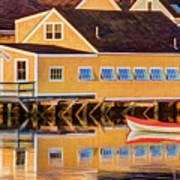 Southend Yacht Club Art Print