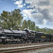 Southern 4501 At Railfest 2015 - 3 Art Print