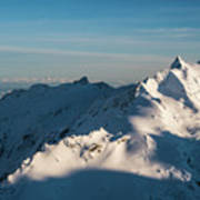 Southern Alps Art Print
