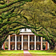 Southern Class Painted Art Print