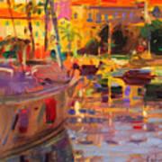 Southern French Port Art Print