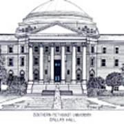 Southern Methodist University Art Print