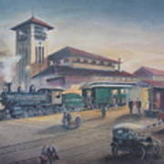 Southern Railway Art Print by Charles Roy Smith