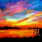 Southern Sunset Art Print