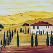 Southern Tuscany Art Print