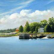 Southport Harbor Art Print