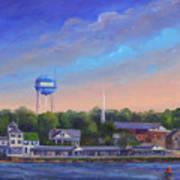 Southport Nc Waterfront Art Print