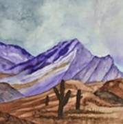 Southwest Landscape IIi Art Print