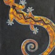 Southwest Lizard Art Print