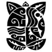 Southwest Tribal Tortuga Art Print