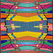 Southwestern Rug Art Print