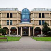 Sovereign Shopping Centre - Entrance From The Garden Art Print