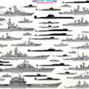 Soviet Navy Art Print