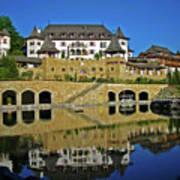 Spa Resort A-rosa - Kitzbuehel Art Print by Juergen Weiss