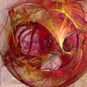 Space Demand Abstract Art Art Print