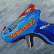 Space Patrol Art Print