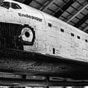Space Shuttle Endeavour 2 Art Print