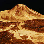 Space: Venus, 1991 Art Print