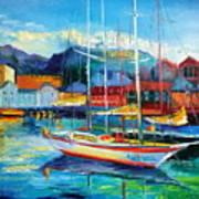 Spain Boats Art Print