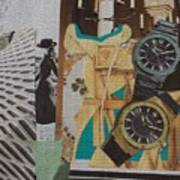 Spain Collage Art Print