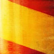 Spain Flag Art Print by Setsiri Silapasuwanchai