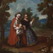Spaniard And Morsica Art Print
