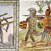 Spanish Conquest, 1520 Art Print