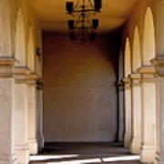 Spanish Corridor Art Print