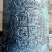 Spanish Crest 1764 Art Print